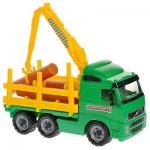 Автомобиль-лесовоз (в сетке) 8756