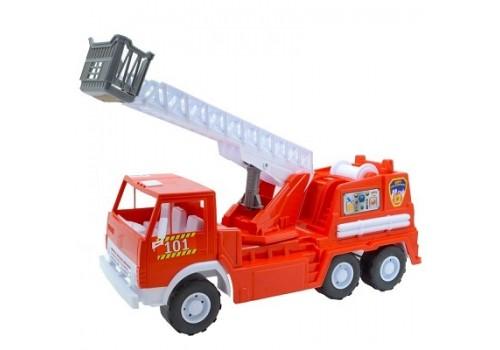 Пластмассовый автомобиль Пожарная Х3