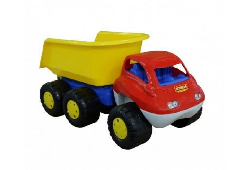 Автомобиль-самосвал с прицепом Дакар (в пакете) 46116