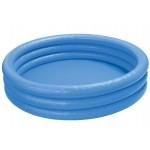 Бассейн надувной INTEX Кристалл синий 58426 147х33