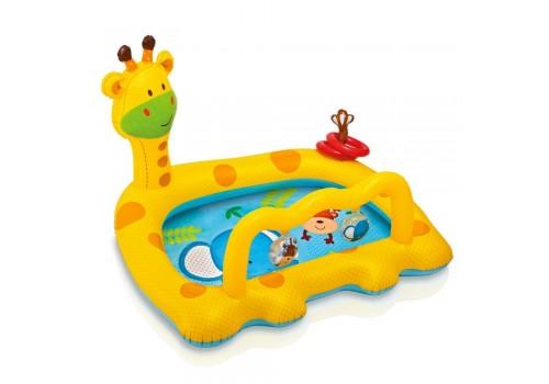 Надувной бассейн Жираф 112 х 91 х 72 см 1-3 года