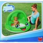 Надувной бассейн BestWay Лягушка с навесом 52189 97х66см