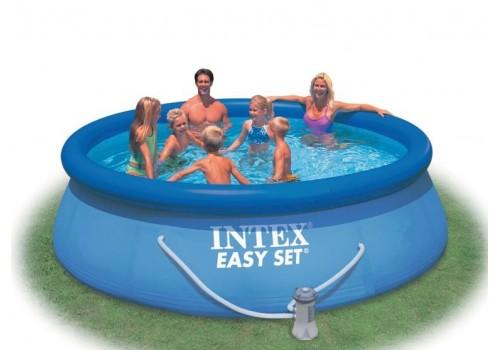 Бассейн надувной INTEX 366х76 56422 с фильтр-насосом