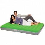 Надувной матрас двухспальный 67475 зелёный