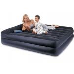 Надувной матрас кровать райзинг комфорт с электрическим насосом 220в 66702