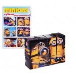 Кубики в картинках Миньоны 12 шт пластиковые