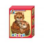 Кубики Кошки-Крошки 12 штук 00687
