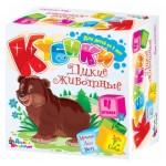 Кубики дикие животные 4 штуки 00635