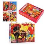 Кубики деревянные Герои русских былин 12 штук 180-176