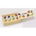 Логическая игра Домино деревянное а-270