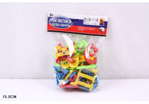 Буквы магнитные в пакете 15 см 787-Н27607