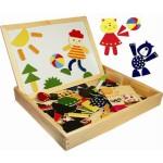 Магнитная деревянная мозаика 122