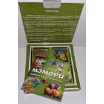 """Карточная игра """"Мэмори удивительные животные"""" 27 парных карточек"""