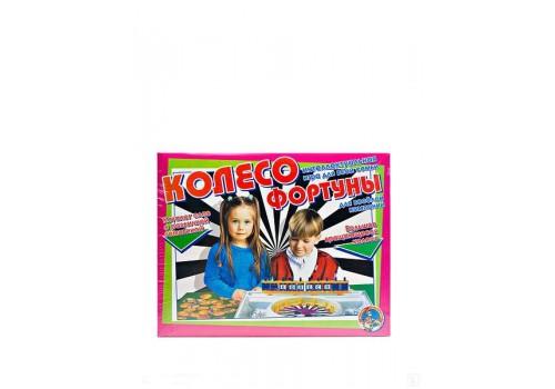 Настольная познавательная игра Колесо фортуны 12005