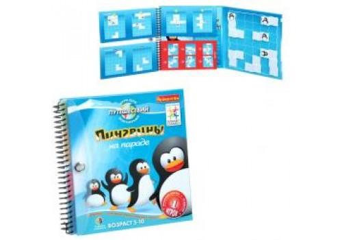 Магнитная игра Пингвины на параде Bondibon SGT260