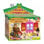 Магнитный театр Маша и Медведь. Красота - страшная сила VT3206-17