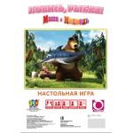 """Настольная игра мини """"Маша и медведь. Ловись,рыбка!"""" 12541"""