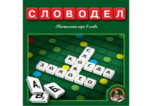Настольная познавательная игра Словодел 01347