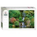 Пазл 1000 элементов Водопад в японском саду 79115
