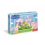 Пазлы 160А Свинка Пеппа 01543