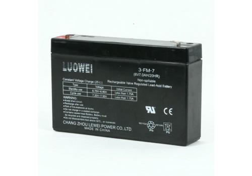 Аккумулятор 6V/7Ач для аккумуляторных автомобилей