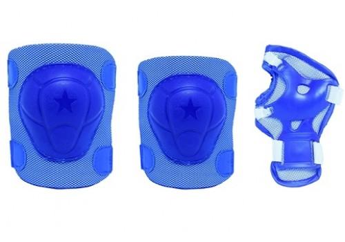 Комплект защиты B21050 синий, розовый р.S