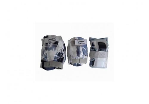 Комплект защиты PW-308 р.М серый хаки купить