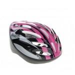 Шлем велосипедный ОТ-11 р.L сиренево-черный