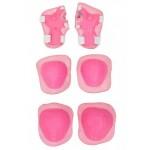 Комплект защиты розовая 5909