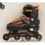 Роликовые коньки раздвижные размер 35-38 141-536М