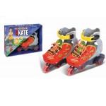 Роликовые коньки раздвижные Kings Sport 30881R размер 30-33 р