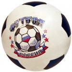 Мяч резиновый диаметр 200 мм лакированный (эмблема) 56ПЭ