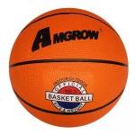 Мяч баскетбольный №7 оранжевый AMGROW