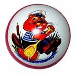 Мяч резиновый диаметр 200 мм лп-76