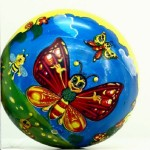 Мяч детский с рисунком 22 см 2304-36и