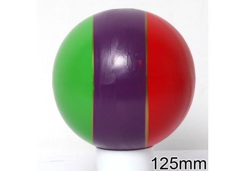 Мяч диаметр 125 мм лакированный с-21ЛП