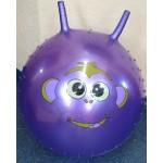 Мяч прыгунок с рогами 2232 ЕВ025144 60 см