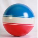 Мяч диаметр 200 мм лакированный с-23 ЛП (полоса)