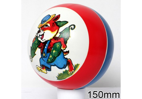Мяч диаметр 150 мм с рисунком 52лп