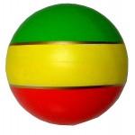 Мяч диаметр 100 мм лакированный 20лп