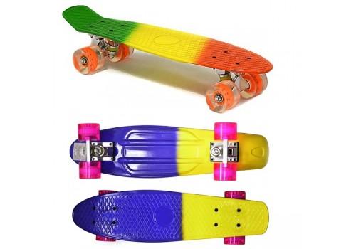 Скейтборд BlaskAgua пластиковый SK-2206D пластиковый