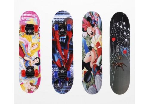 Скейтборд для детей Герои мультфильмов Disney