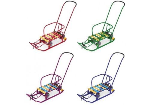 Санки с 4 колесами Тимка 5 универсал