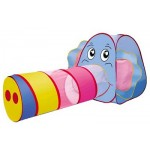 Палатка игровая с тоннелем слонёнок 999Е-26А