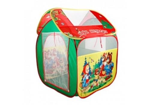 Детская игровая палатка нейлон Три медведя GFA-3BEAR-R