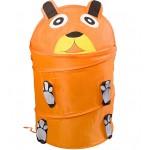 Контейнер для игрушек животные в ассортименте 45х50 см
