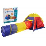 Палатка игровая с тоннелем IT104642
