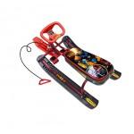 Снегокат Спорт 1 робот бордовый ТС1