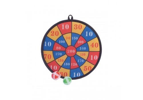 Дартс с мячиками на липучках 7344