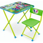Комплект детской мебели Тролли стол+стул мягкий Т-2м